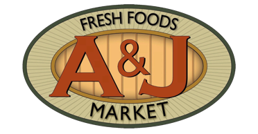 A theme footer logo of A&J Market